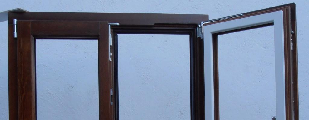 Ventanas madera y aluminio