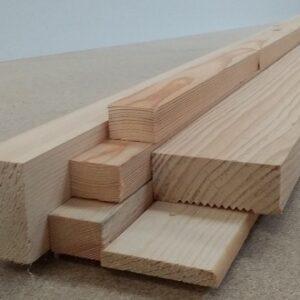Jambas, rodapies, listones de madera