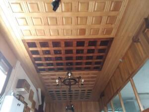 Artesonado de madera