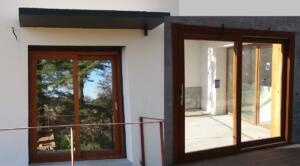 Puerta Corredera madera (interior / exterior )