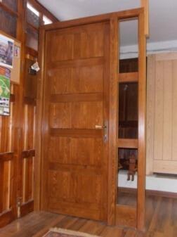 Puertas entrada exterior madera