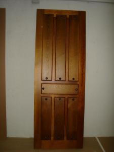 Puertas interior madera estilo castellanas